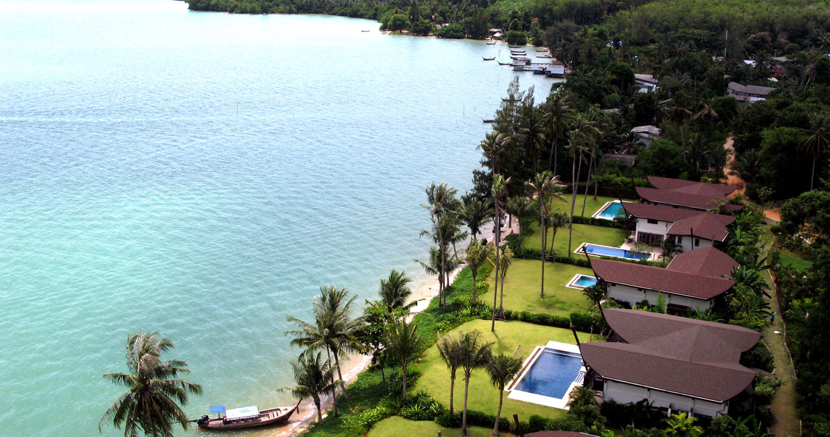 On the Beach 5 Bed Pool Villa Coconut Island for Sale
