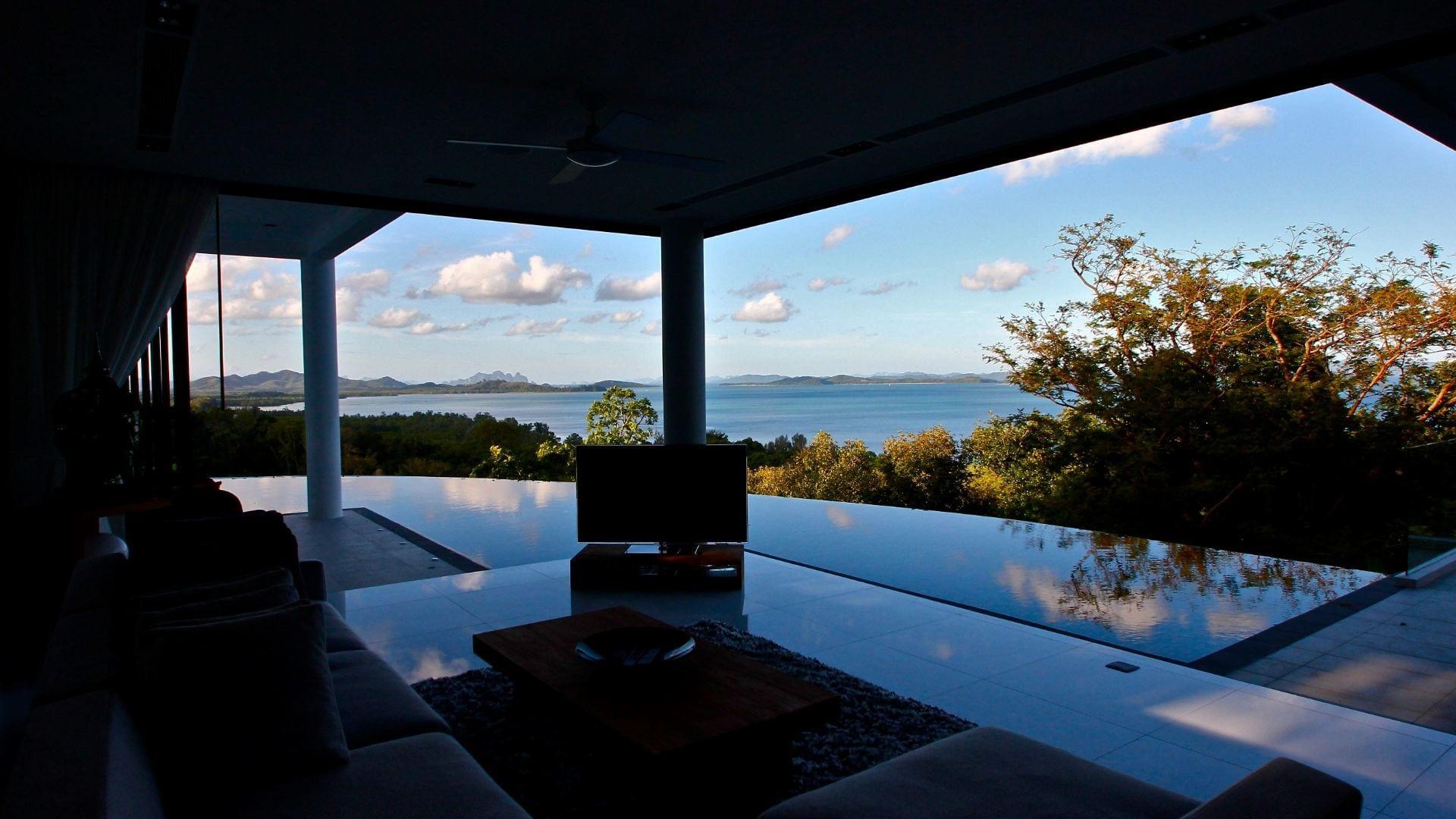Cape Yamu, Luxury Modern Seaview Villa