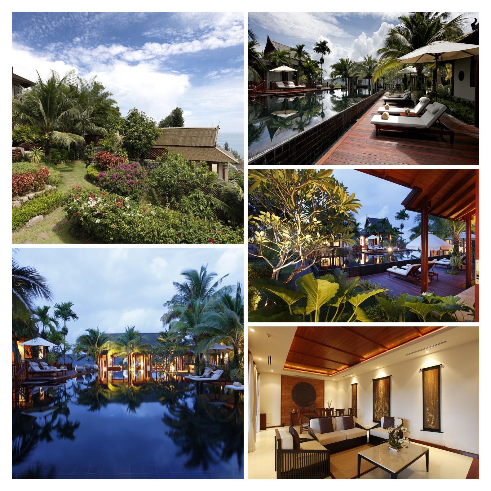 Modern 4 Bed Thai Style Ocean Villa, Kamala