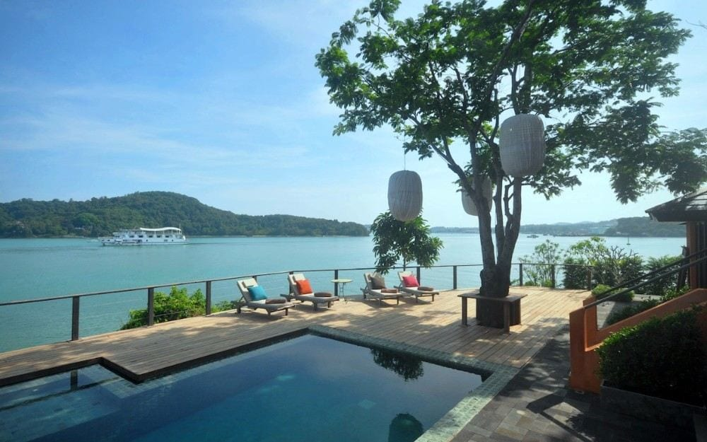 Ocean Waterfront Private Villa for Sale