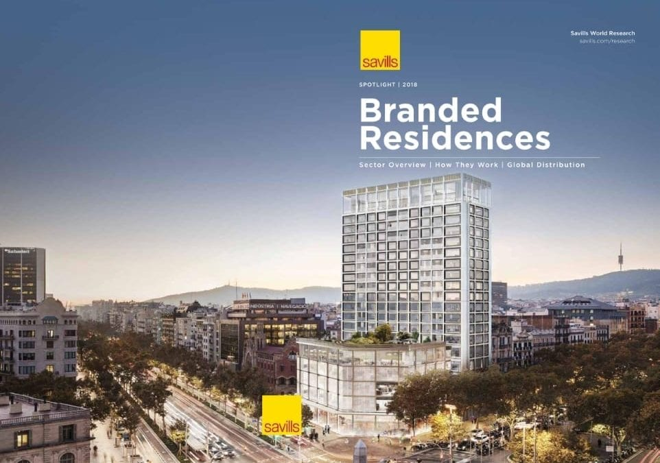Branded Residences Report 2018 – Savills Global Report